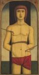 Reynaldo Fonseca (1925) - Sem título - Óleo sobre tela - 63 x 33 cm - 1973 - Assinado e datado embaixo à esquerda