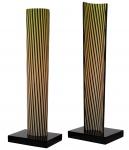 Cruz-Diez, Carlos (1923) - CromovelaI - 5/20 - Cerâmica - 62 x 21 x 16 cm - 2009-2018 - Assinado embaixo à direita