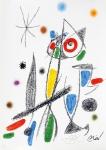 Joan Miró (1893-1983) - Maravillas con variaciones acrósticas en el jardin de Joan Miró - Mod. 12. Litografia - 49 x 35 cm - 1975 -  Assinado embaixo à direita - sem  moldura