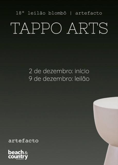18º Leilão de arte online Blombô | ARTEFACTO| TAPPO ARTS | 09 de Dezembro às 19:00 hs